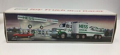VINTAGE HESS 1988 TOY TRUCK & RACER New in Box
