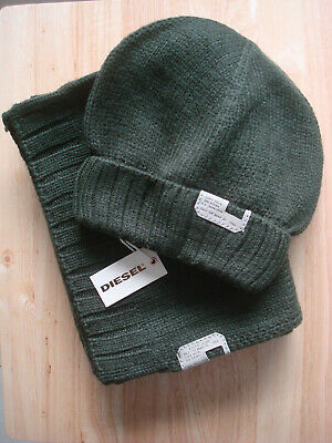 **55% OFF!!** DIESEL Hat & Scarf Set / One Size / RRP £60 / Outstanding