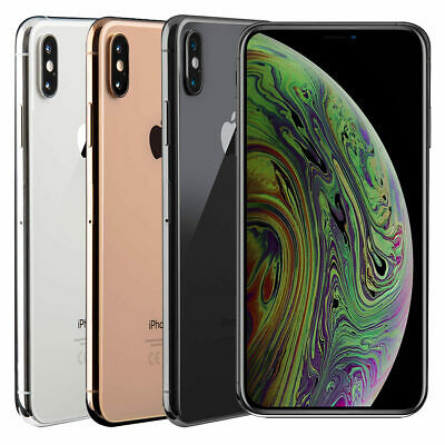 Apple iPhone XS 64GB 256GB Unlocked Sim Free Pristine Mint Condition 5.8 Inch