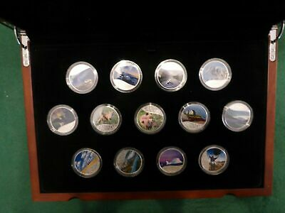 2017 CELEBRATING CANADA's 150th 13 $10 Coin Set .9999 Silver Coins STUNNING