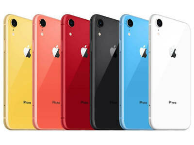 Apple iPhone XR - 64GB - 256GB (Unlocked) (CDMA + GSM) - All 6 Colors New