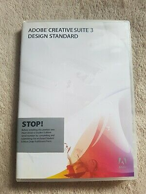 Adobe Creative Suite 3 Design Standard For Mac