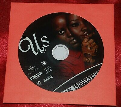 US Official US Horror 4k Ultra HD Disc - Lupita Nyong'o - just opened