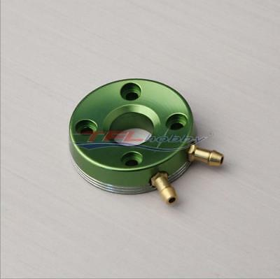 Details about  /GP21 Engine Cooling Cover W// M4 Metal Water Outlet for RC Boat Purple //Green