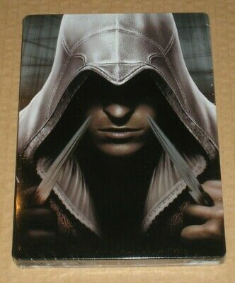 Assassins Creed Ezio G1 Steelbook German Germany Very Rare Sealed NO GAME