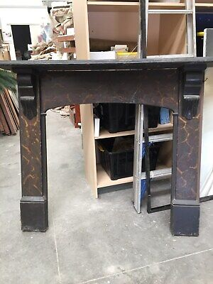 Fireplace mantelpiece Vintage, timber in fair condition