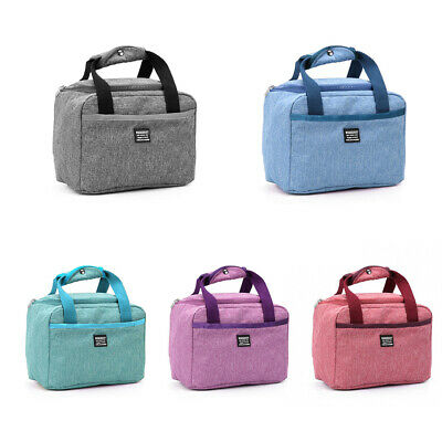 Waterproof Thermal Insulated Food Storage Picnic Pouch Lunch Box Lunch Bag