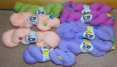 14 Colors To Choose From Flamme Duo Ice Yarn Acrylic Polyamide 50g 142y