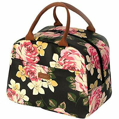 Lunch Bags For Women, Tote Box Water-resistant Thermal Cooler Organizer Working