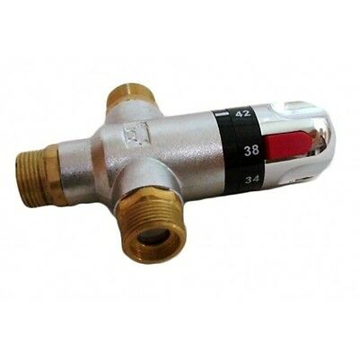 Thermostatic Mixing, Blending Valve TMV 15mm or 22mm Douche Basin Bath Sink