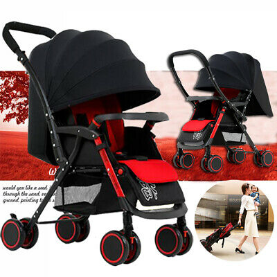 Portable Travel Carry Stroller Lightweight Compact Baby Pram Foldable Pushchair