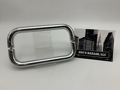 "8"" BTB Polished Chrome C.R. Laurence Glass Door Shower Handle"