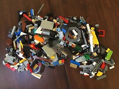 LEGO Bulk Lot of Bricks Parts and Pieces Bionicle Clean Genuine 2 Lbs Grab Bag