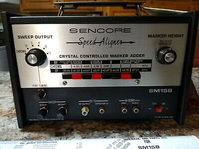 Sencore SM158 Sweep Marker Generator (Never Used)