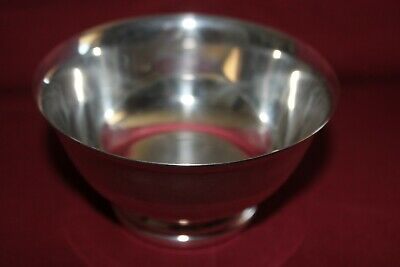 Vintage Gorham Paul Revere Footed Bowl YC795 Electro Silver Plated 4-1/2 inch