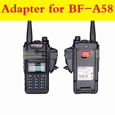 2Pin Audio Walkie Talkie Adapter Connector for Baofeng Motorola GP Two Way Radio
