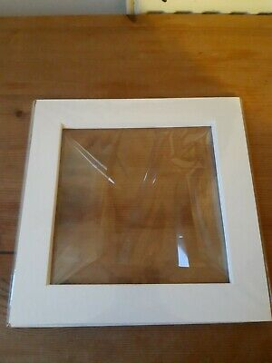 5 X Ivory Picture Mounts 8x8