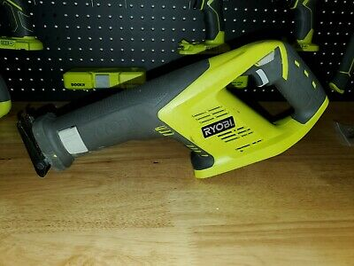Ryobi P515 - 18 volt + CORDLESS reciprocating saw tool only (Bare Tool)