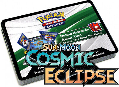 50x Sun And Moon Cosmic Eclipse Pokemon TCGO PTCGO TCG Online Codes Sent Fast