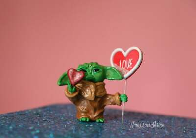 The Mandalorian Baby Yoda Inspired The child star wars figurine sculpture figure