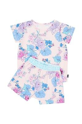 BNWT Bonds Floral Summer Kids Sleep Set Size 3