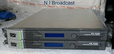 1x  Grass Valley K2 Edge smart  playout server  with HDX option