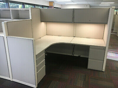 Used Steelcase office Cubicles worksations 6X6.5 & 6X9 & 6X11