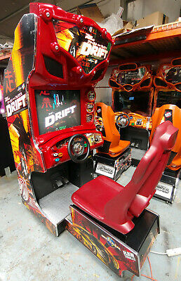 """FAST AND FURIOUS DRIFT Arcade Sit Down Driving Game! WORKS GREAT 27"""" CRT Monitor"""