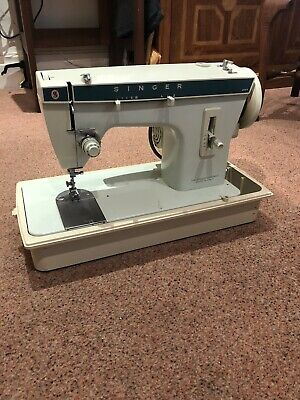 Singer 257 Electric Sewing Machine Heavy Duty Foot Pedal Case