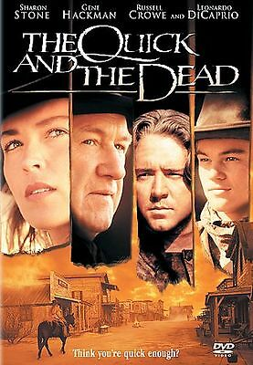 The Quick and the Dead (DVD, 1998, Closed Caption)