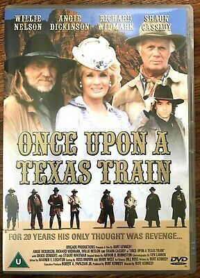 Once Upon A Texas Train DVD 1988 Western Film W/Willie Nelson Angie Dickinson