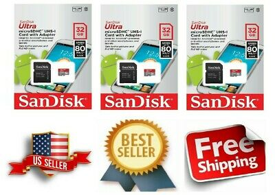 SanDisk 32GB  Micro SD HC Class 10 TF Flash SDHC Memory Card 32GB SANDISK ULTRA