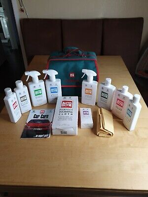 Autoglym Lifeshine Complete Cleaning & Detailing Kit Essentials in Carry Bag