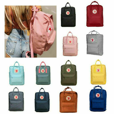 Fjallraven Kanken Handbag Waterproof Travel Bag School Sport Backpack 7L/16L/20L