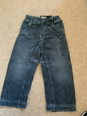 Burberry Boys Blue Cord Trousers Age 3