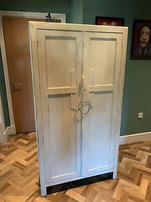 wardrobe Art Deco/ Gentleman's Wardrobe / Shabby chic