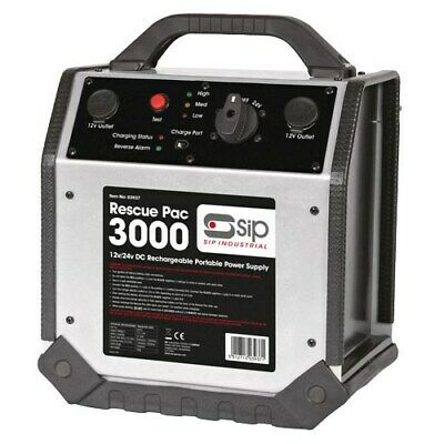 SIP 03937 Rescue Pac 3000 Booster Pac Jumpstart (12V/24V)