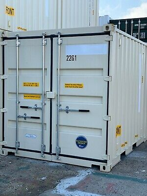 10' One Trip Shipping Container