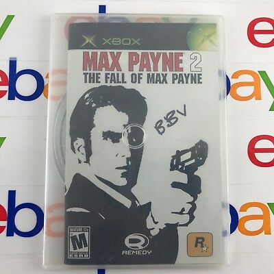 Max Payne 2: The Fall of Max Payne (Microsoft Xbox, 2003)