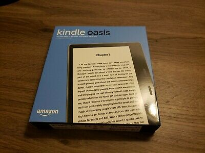 NEW, Kindle Oasis, 9th Gen, Graphite, 32 GB, Wi-Fi + 4G LTE/3g Cellular E Reader