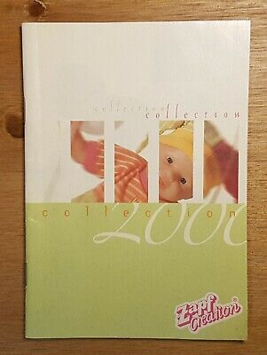 2000 ZAPF CREATION Baby Born catalog in as New Condition SHIP WORLDWIDE