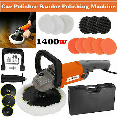 Electric Car Polisher Sander Buffer Polishing Machine Kit 1200w Variable Speed