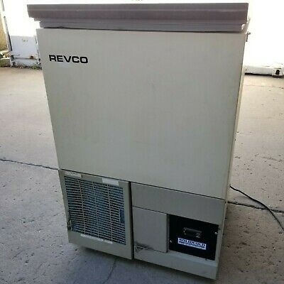 Thermo Sci Revco Plus ULT390-7-D14 Ultra-Low Temp Freezer + Trays | UNTESTED