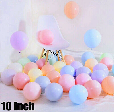 """10"""" Pastel candy balloons colored balloons latex 100 balloons for birthday party"""