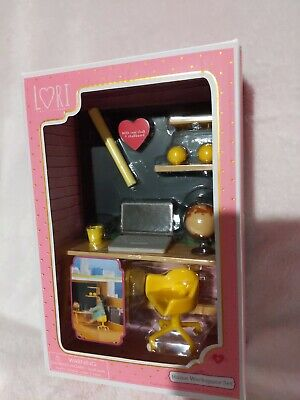 "Our Generation Lori Doll Home Workspace Furniture Set For 6"" Lori Dolls!"