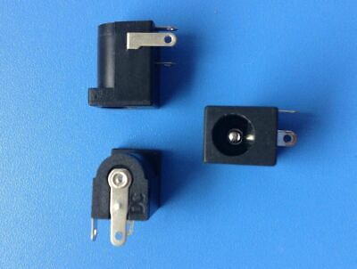 Connector Power Socket From Printed Dc Jack To Weld Pin 2.1 Mm Icp Pce