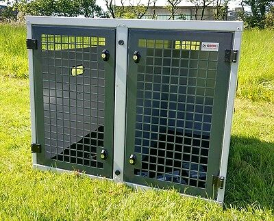 Dog Box UK Dog Transportation Box Crate K9 L200 Ranger Ford Toyota