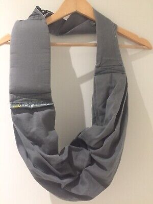 Minimonkey Baby Infant Sling Carrier Grey Cotton
