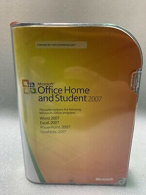 Microsoft Office 2007 Home and Student - Good Condition- Free Shipping!