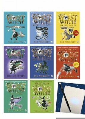 The Worst Witch 8 Book Set Collection